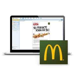 Best case mcdonalds innovative formate fr noch mehr branding mcdonalds altavistaventures Images